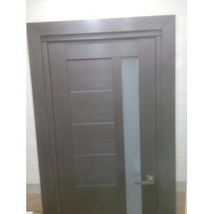 37Х венге роторная дверь (в закрытом виде)