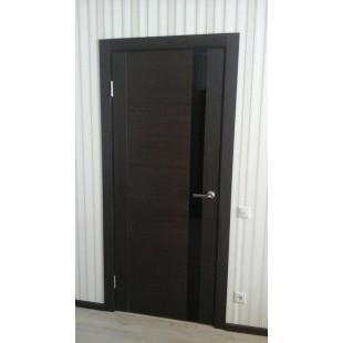 дверь 62Х венге в интерьере