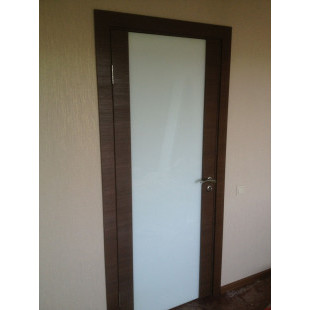 дверь 8Х малага черри в интерьере