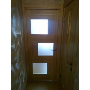 дверь 13Х капучино в интерьере