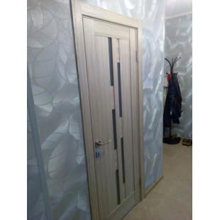 дверь 30Х капучино в интерьере