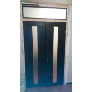 фото двери 16Х Венге с фрамугой в интерьере