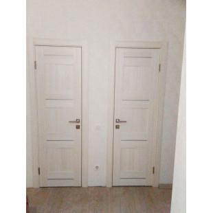 дверь 12Х эшвайт мелинга в интерьере