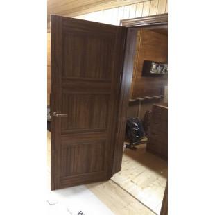 дверь 3х орех амари в интерьере