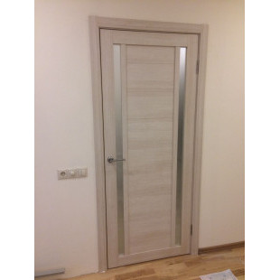 дверь 15х капучино в интерьере