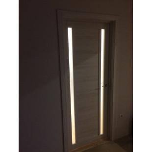 фото двери 15х капучино в интерьере