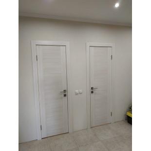 Дверь 20х эшвайт фото в интерьере