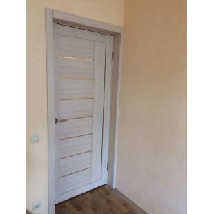 Дверь 17х капучино в интерьере