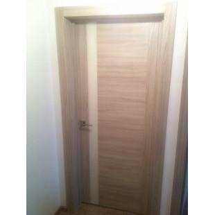Дверь 62Х капучинно фото в интерьере