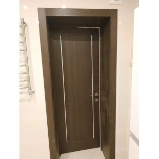 Фото двери в интерьере 2.47Х венге