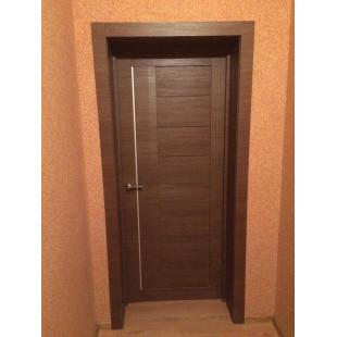 дверь 17х малага черри в интерьере