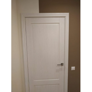 фото двери 105х пекан белый в интерьере