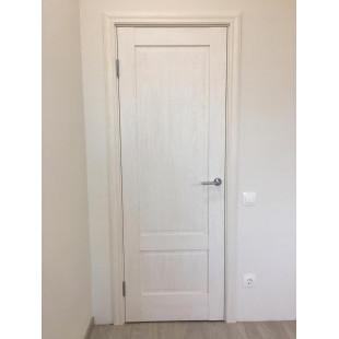 фото дверь 105Х пекан белый в интерьере