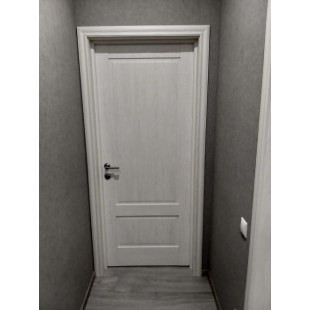 дверь 105Х пекан белый в интерьере