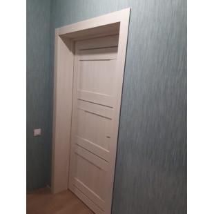 фото двери 12x ясень белый в интерьере