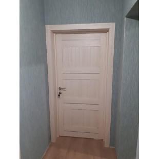 фото двери в интерьере 12x ясень белый