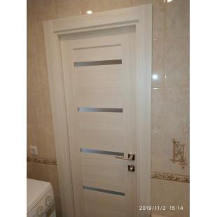 дверь 7Х эшвайт, фото в ванной