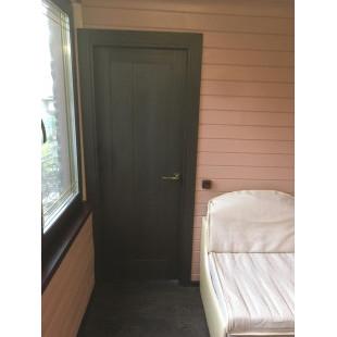 фотография двери 2.47X Венге в интерьере