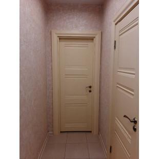 фотография двери 3x эш вайт в интерьере