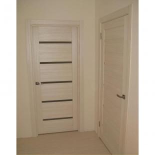 двери 7Х эшвайт в интерьере