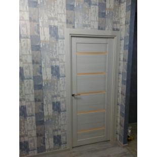 дверь 7Х ясень белый в интерьере