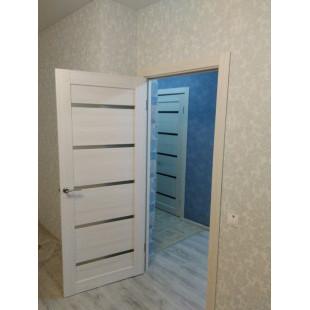 дверь 7Х ясень белый фото в интерьере