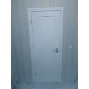 дверь 100Х пекан белый в интерьере