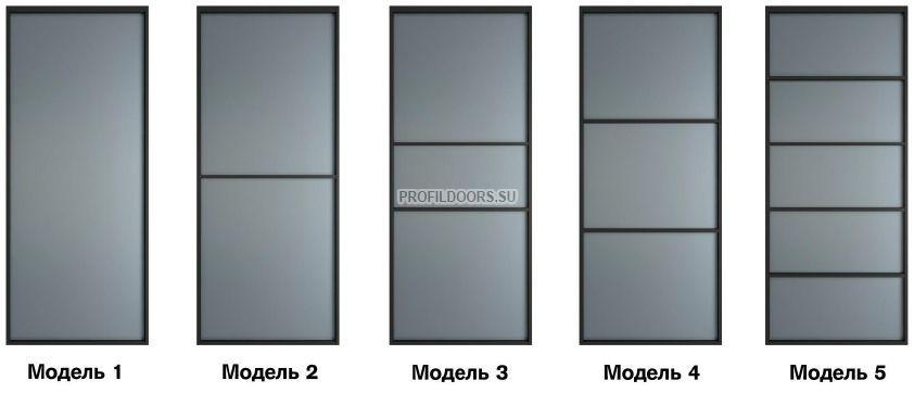 Модели перегородки Профиль Дорс