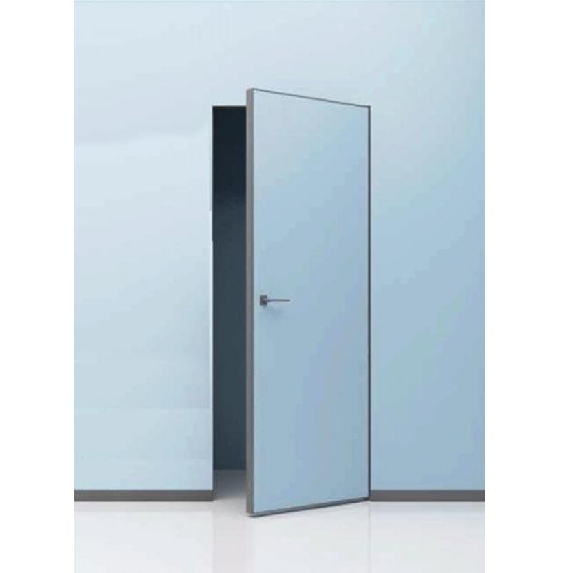 скрытые двери под покраску с открыванием на себя